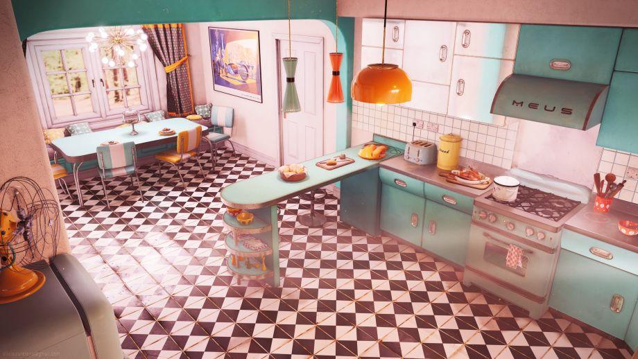 UE4场景制作教程:厨房