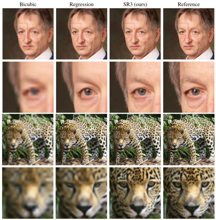 SR3: Google enfoca cualquier imagen por medio de la AI