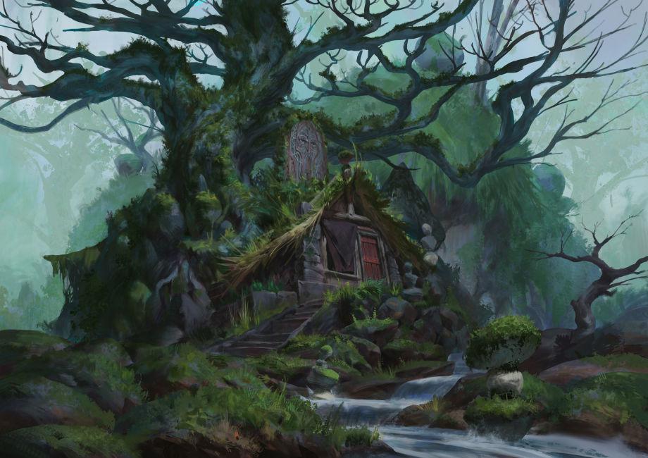 使用UE4制作树屋场景