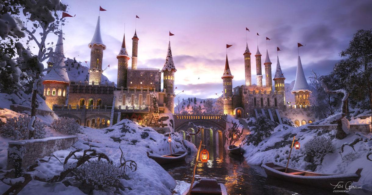 Fantasy Castle.