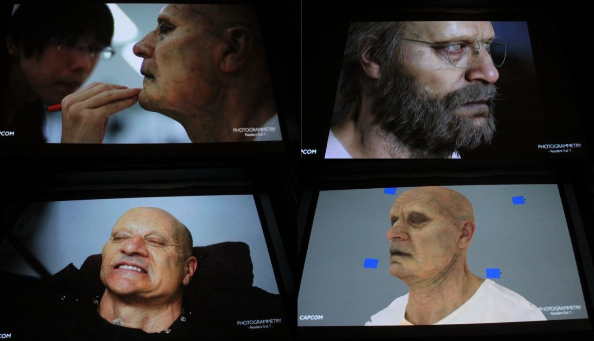 Resident Evil 7 The Use of Photogrammetry for VR